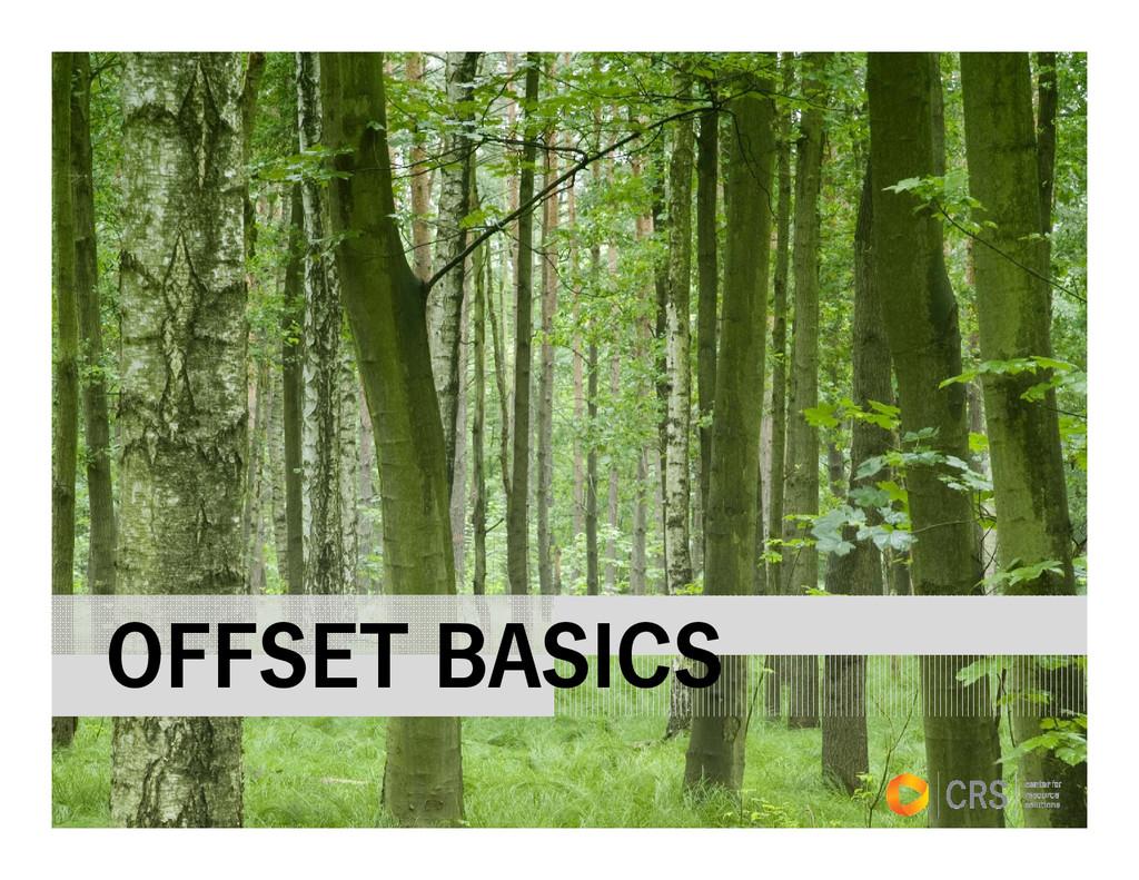 OFFSET BASICS