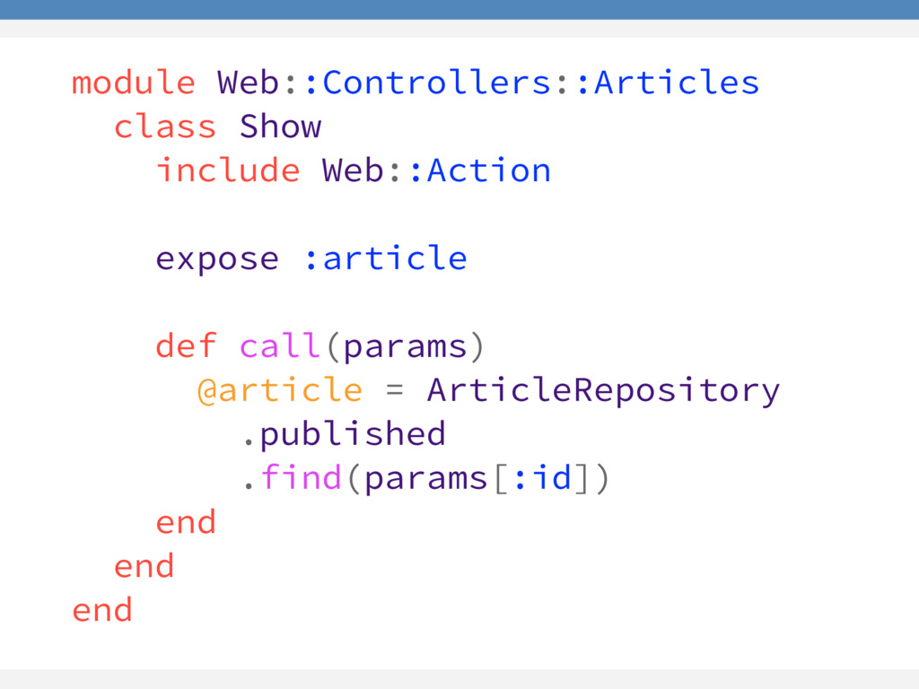 module Web::Controllers::Articles class Show in...