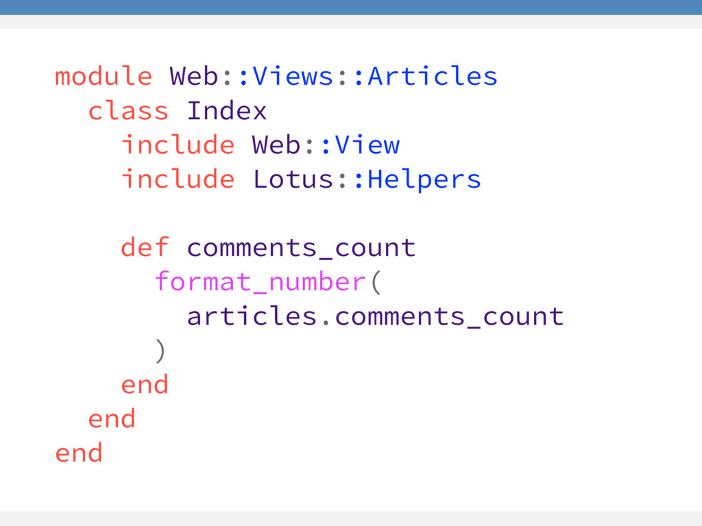 module Web::Views::Articles class Index include...