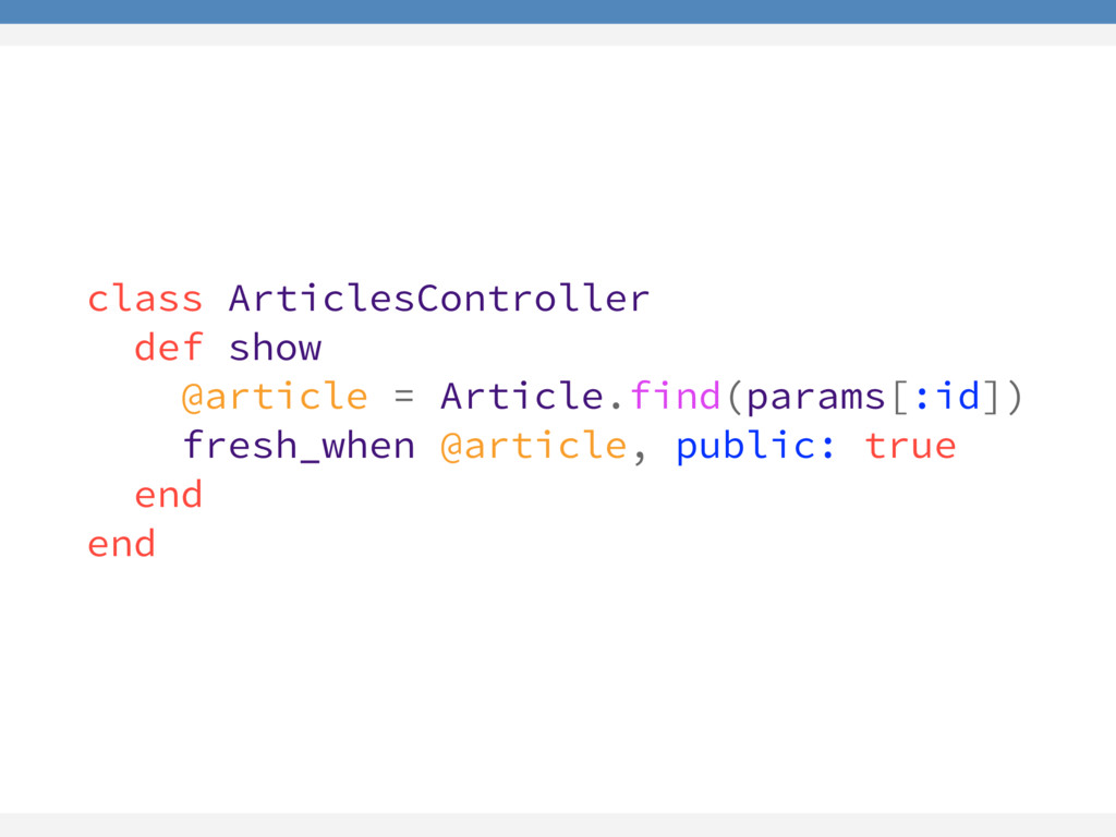 class ArticlesController def show @article = Ar...