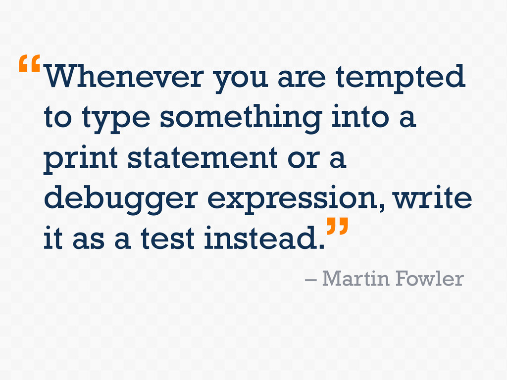 Whenever you are tempted to type something into...