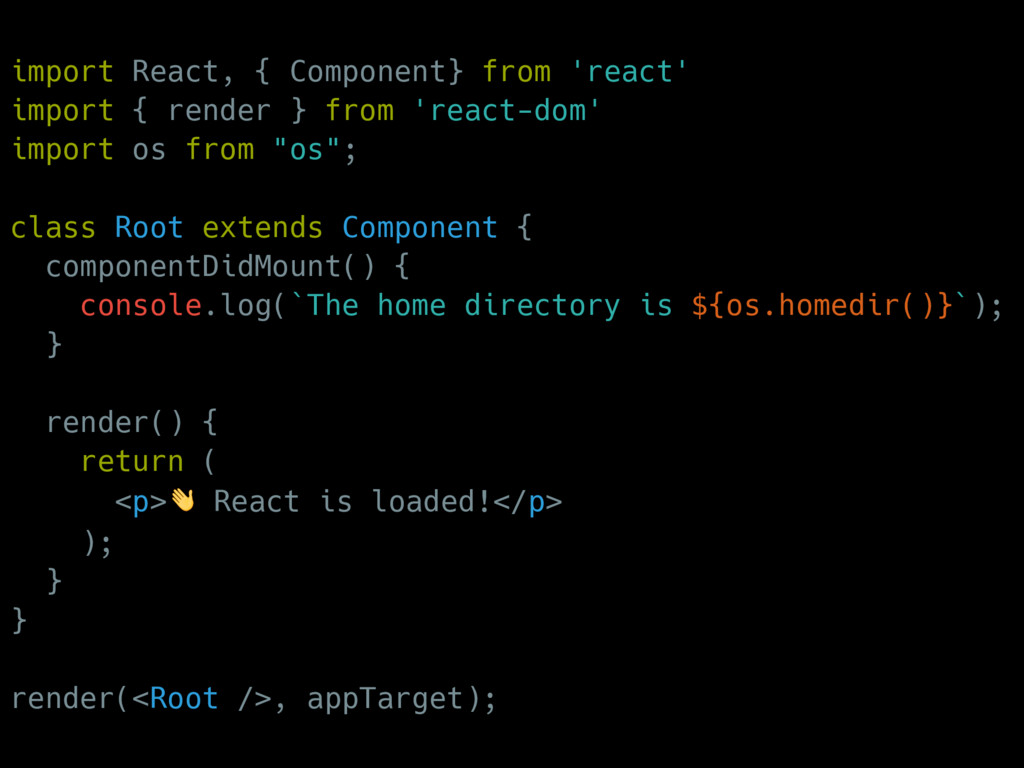 import React, { Component} from 'react' import ...