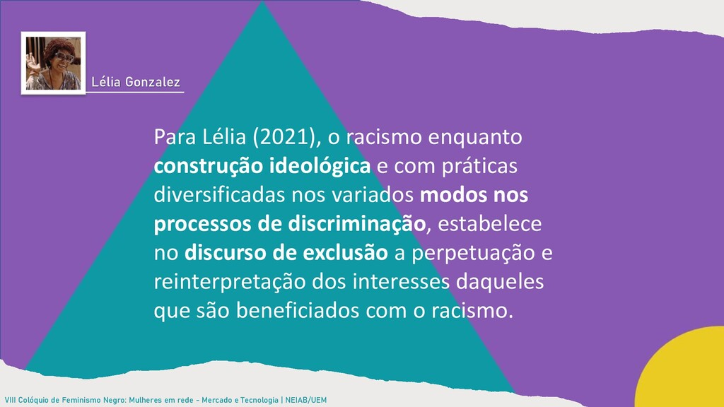 VIII Colóquio de Feminismo Negro: Mulheres em r...