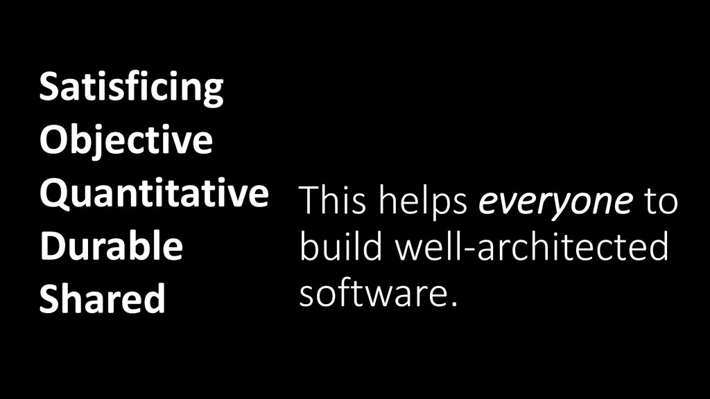 This helps everyone to build well-architected s...