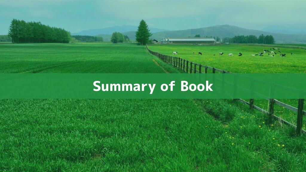 Summary of Book
