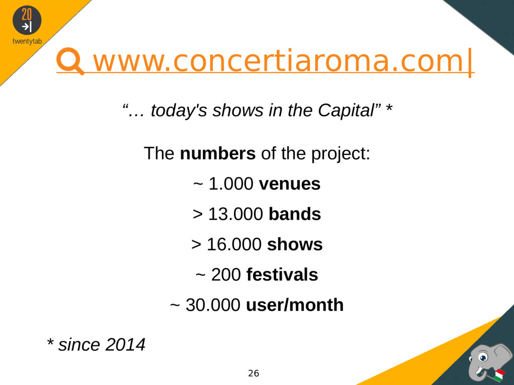 " www.concertiaroma.com| ""… today's shows in th..."