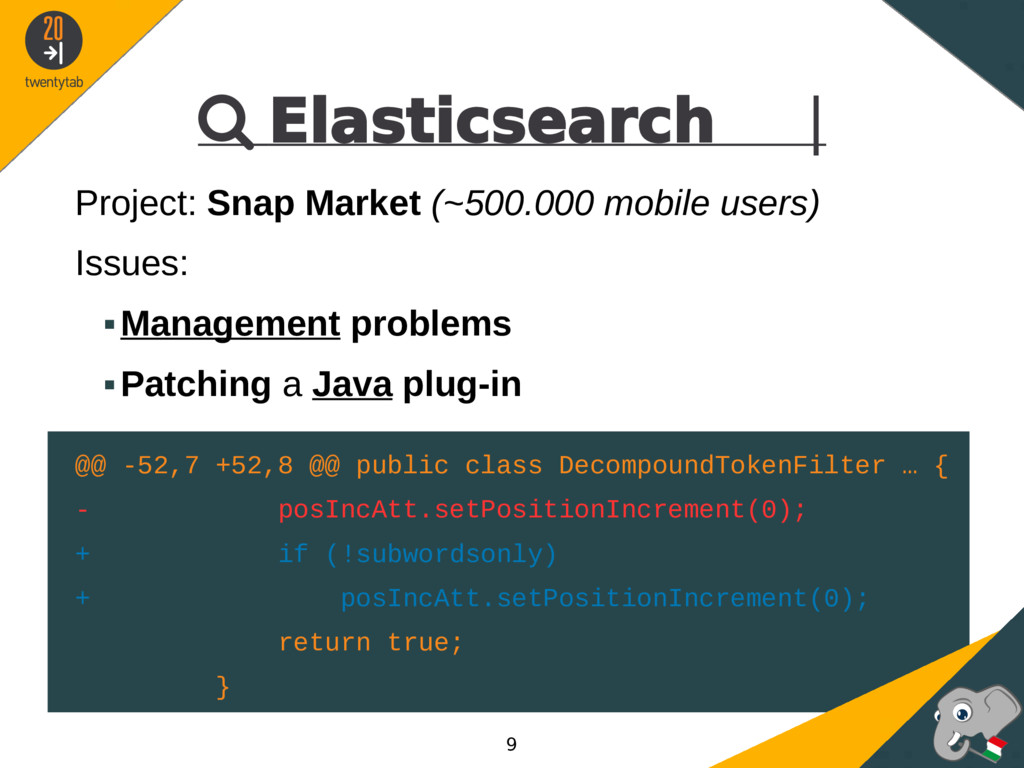  Elasticsearch | Project: Snap Market (~500.00...