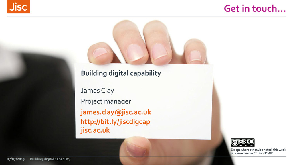 jisc.ac.uk Except where otherwise noted, this w...