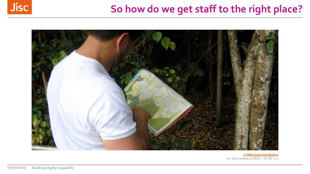 So how do we get staff to the right place? A li...