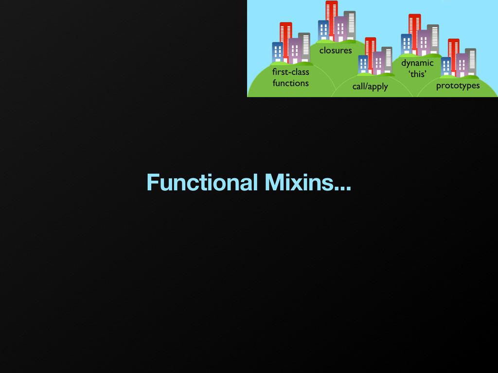 Functional Mixins...