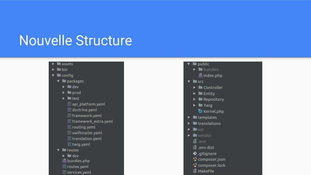 Nouvelle Structure