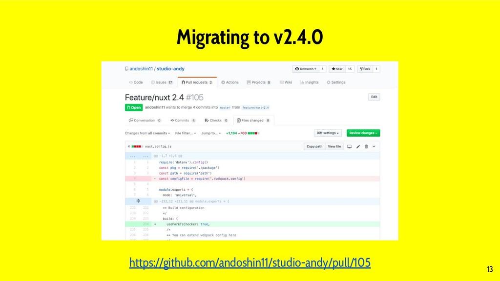 13 Migrating to v2.4.0 https://github.com/andos...