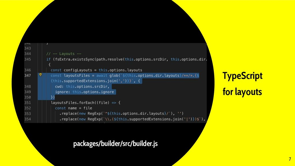 TypeScript for layouts 7 packages/builder/src/b...