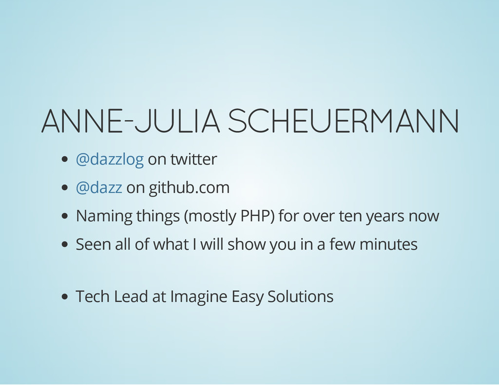 ANNE-JULIA SCHEUERMANN on twitter on github.com...