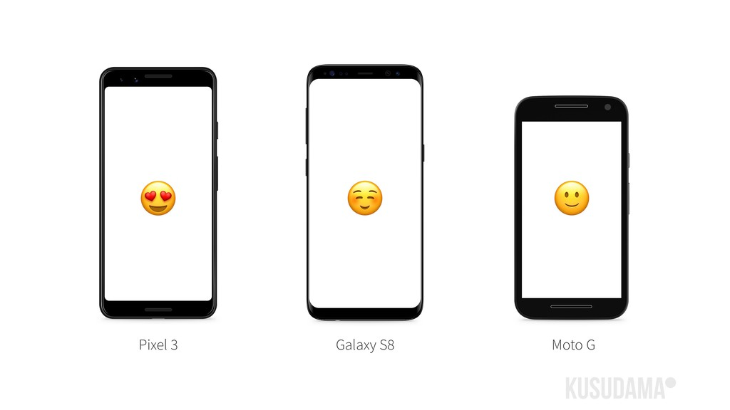 Pixel 3  Galaxy S8 ☺ Moto G