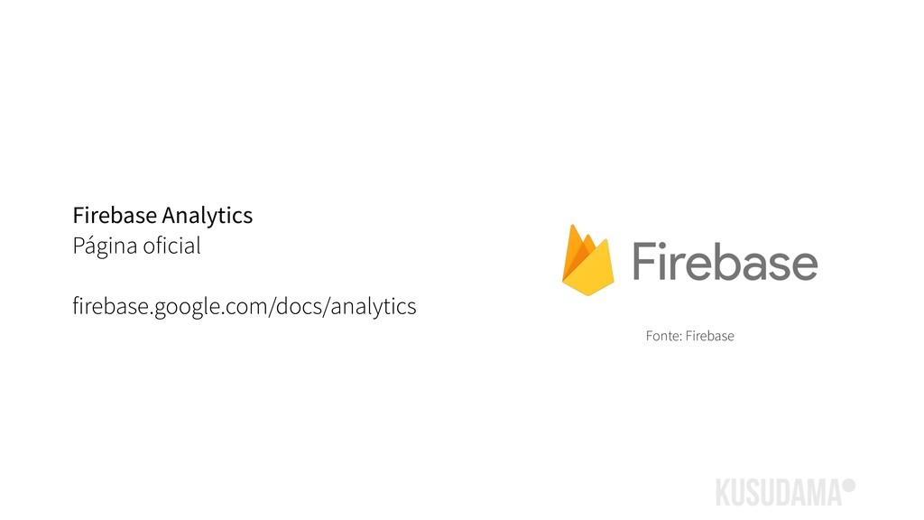 Firebase Analytics Página oficial firebase.goog...