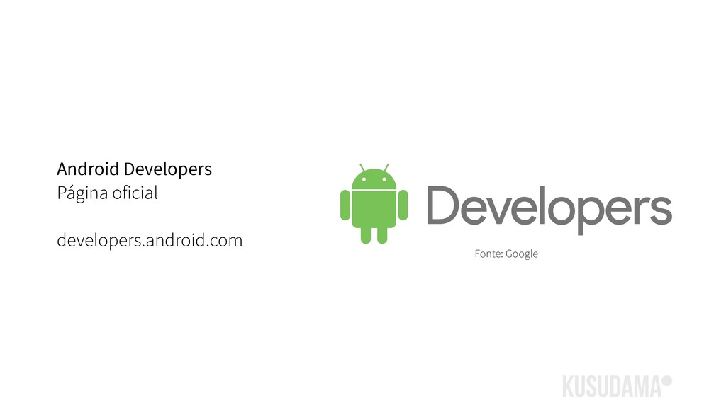 Android Developers Página oficial developers.an...