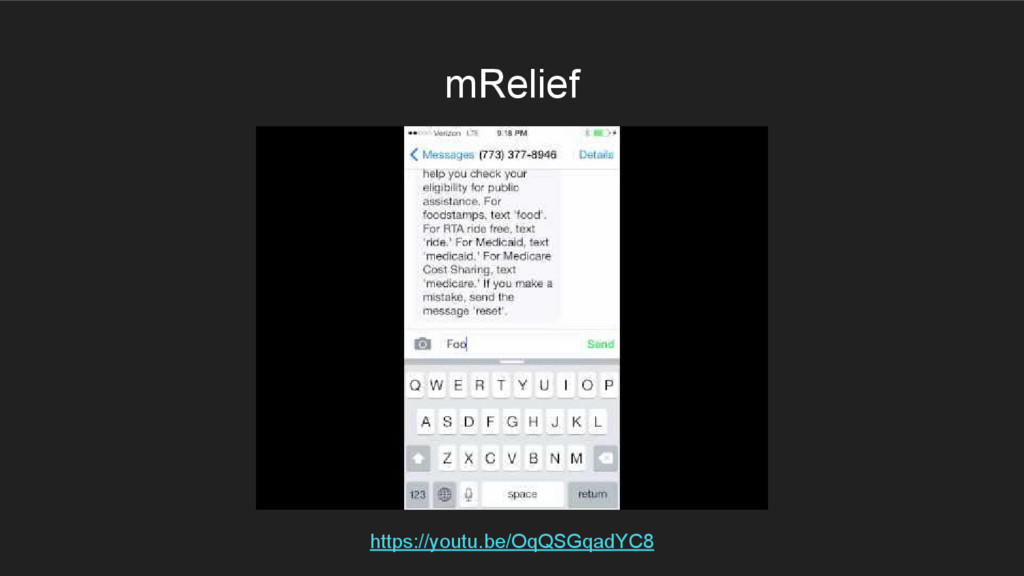 mRelief https://youtu.be/OqQSGqadYC8