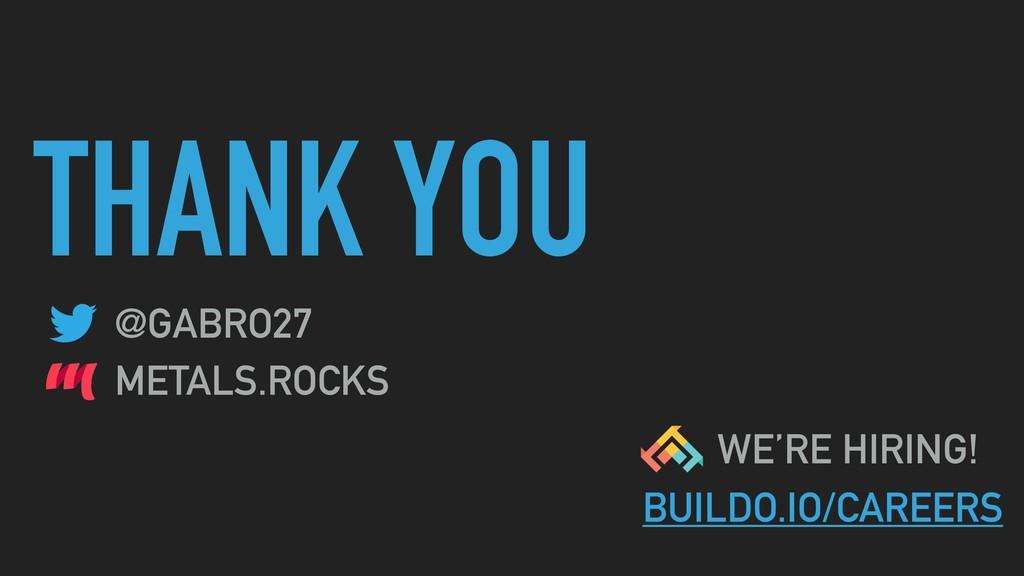 THANK YOU @GABRO27 METALS.ROCKS WE'RE HIRING! B...