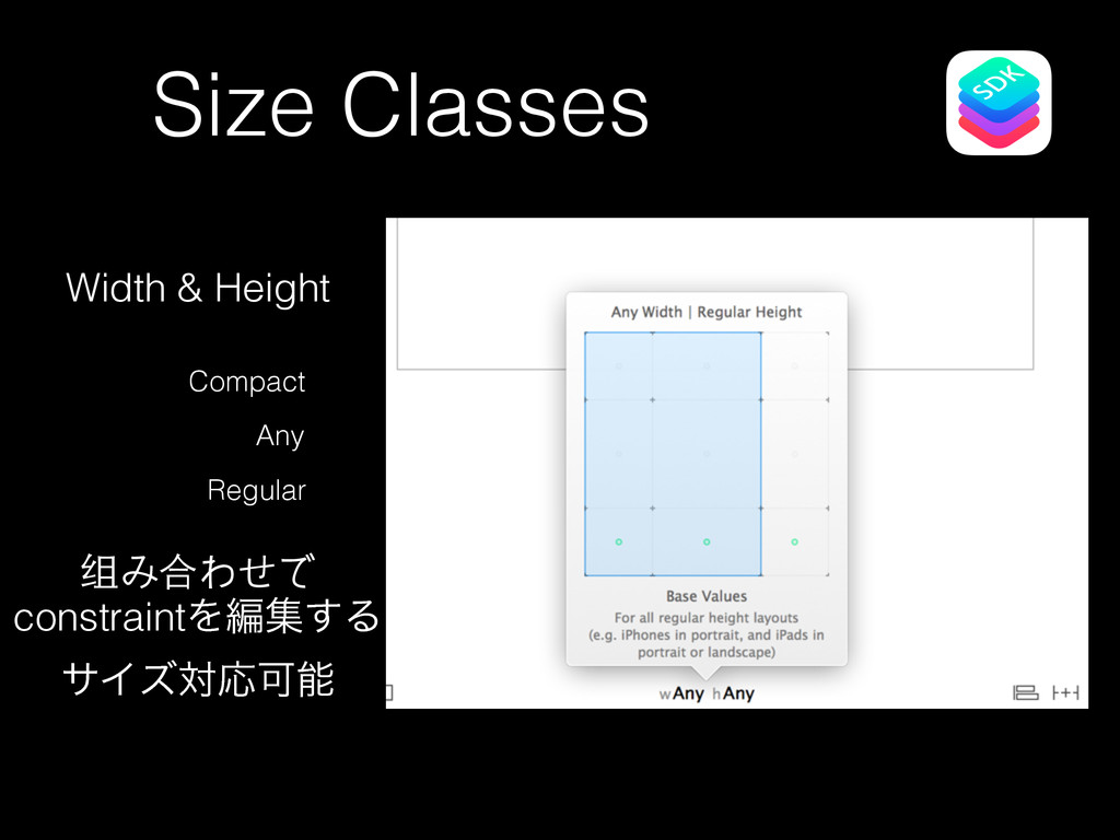 Size Classes Compact Any Regular Width & Height...