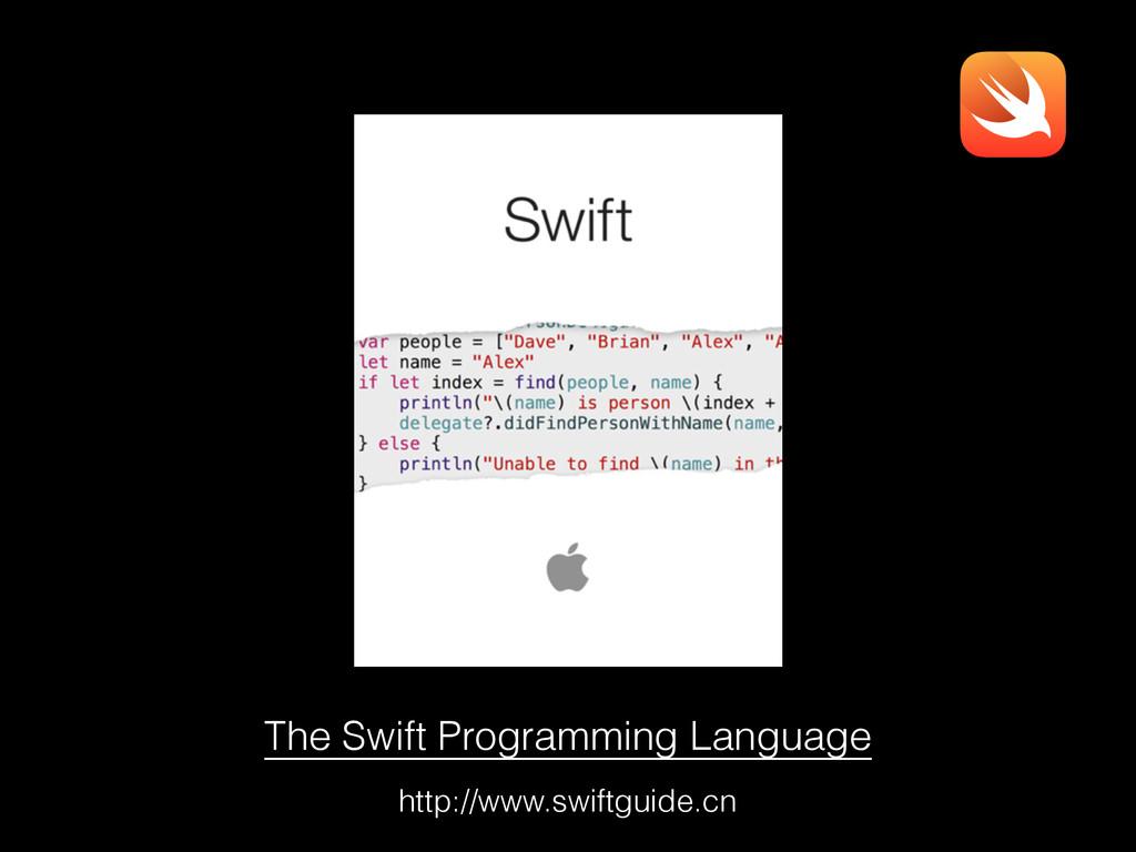 The Swift Programming Language http://www.swift...