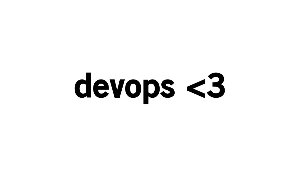 devops <3