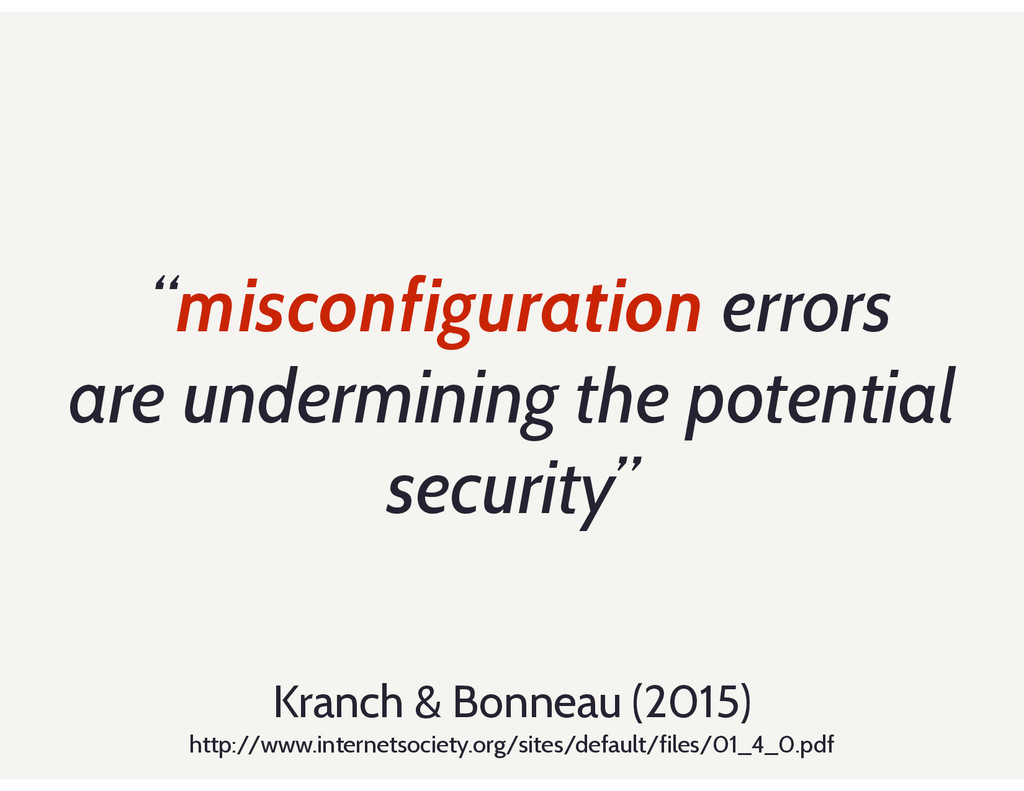 """misconfiguration errors are undermining the po..."