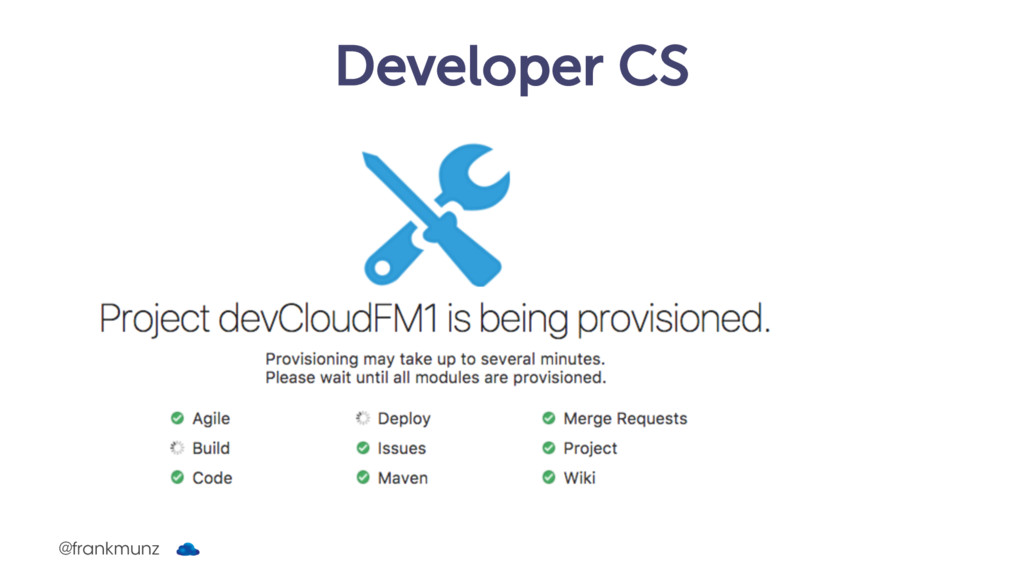 Developer CS @frankmunz