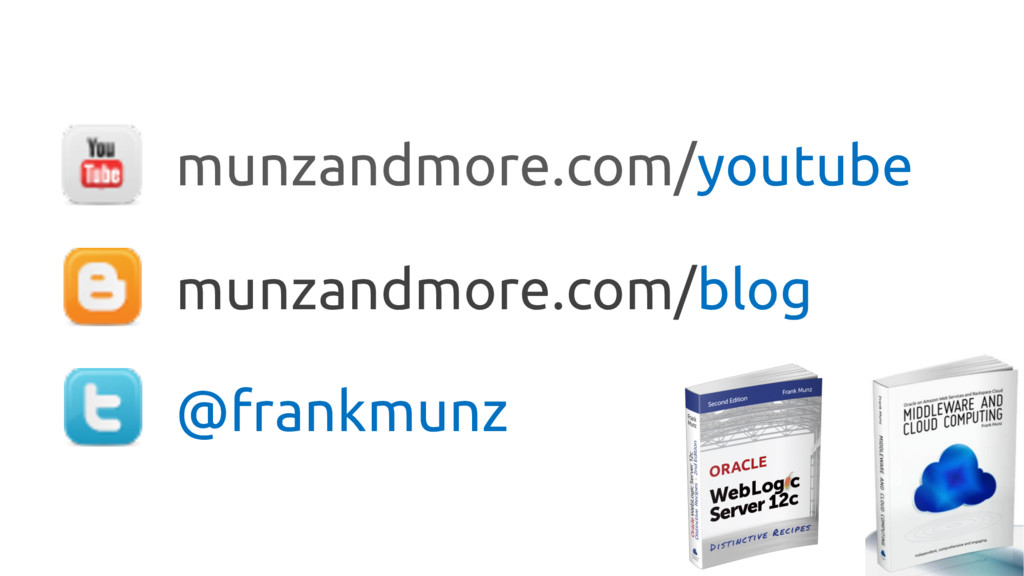 munzandmore.com/blog @frankmunz munzandmore.com...