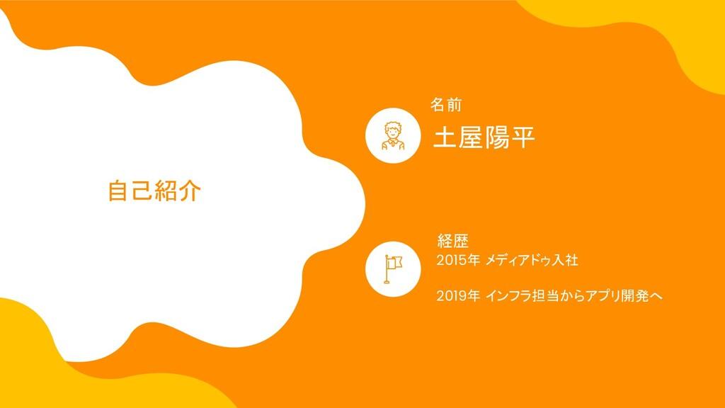 2015年 メディアドゥ入社 2019年 インフラ担当からアプリ開発へ 土屋陽平 名前 経歴 ...