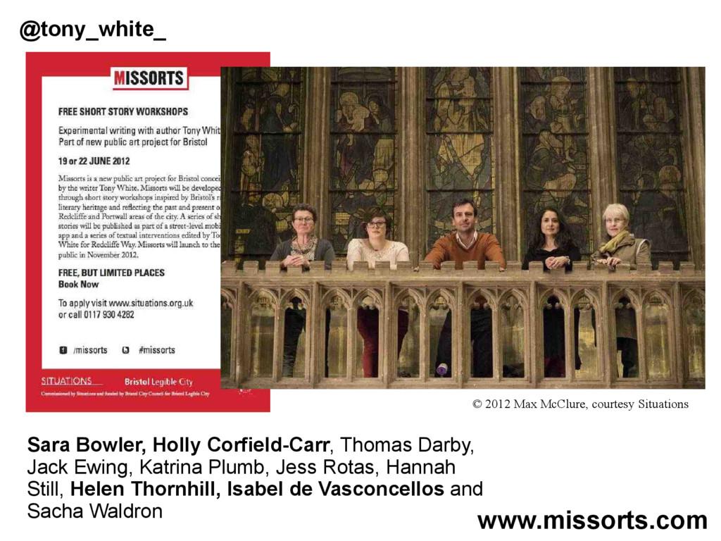 Sara Bowler, Holly Corfield-Carr, Thomas Darby,...
