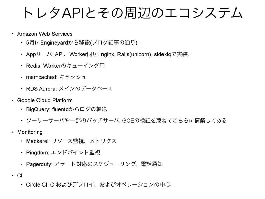 """τϨλ""""1*ͱͦͷपลͷΤίγεςϜ • Amazon Web Services • 5݄ʹE..."""