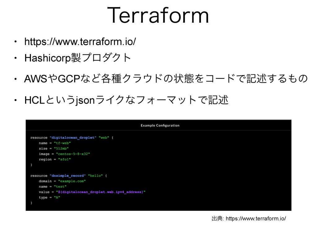 5FSSBGPSN • https://www.terraform.io/ • Hashico...