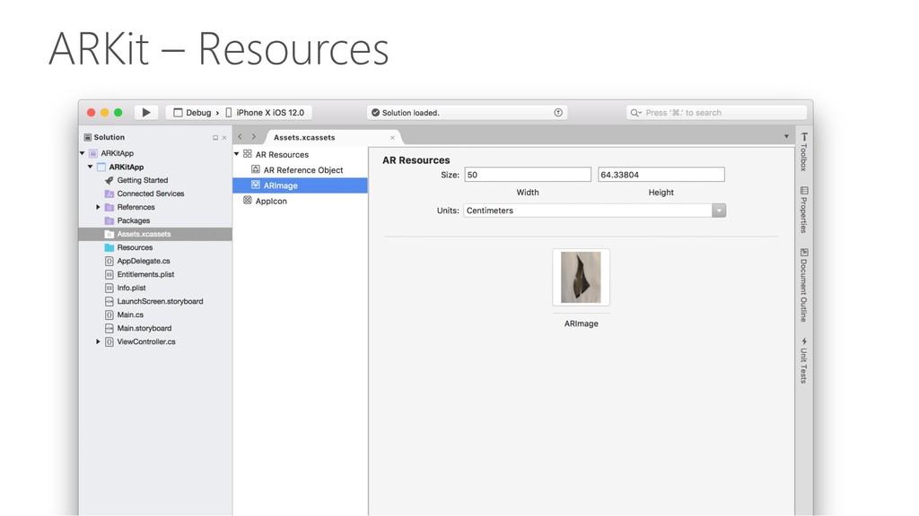 ARKit – Resources