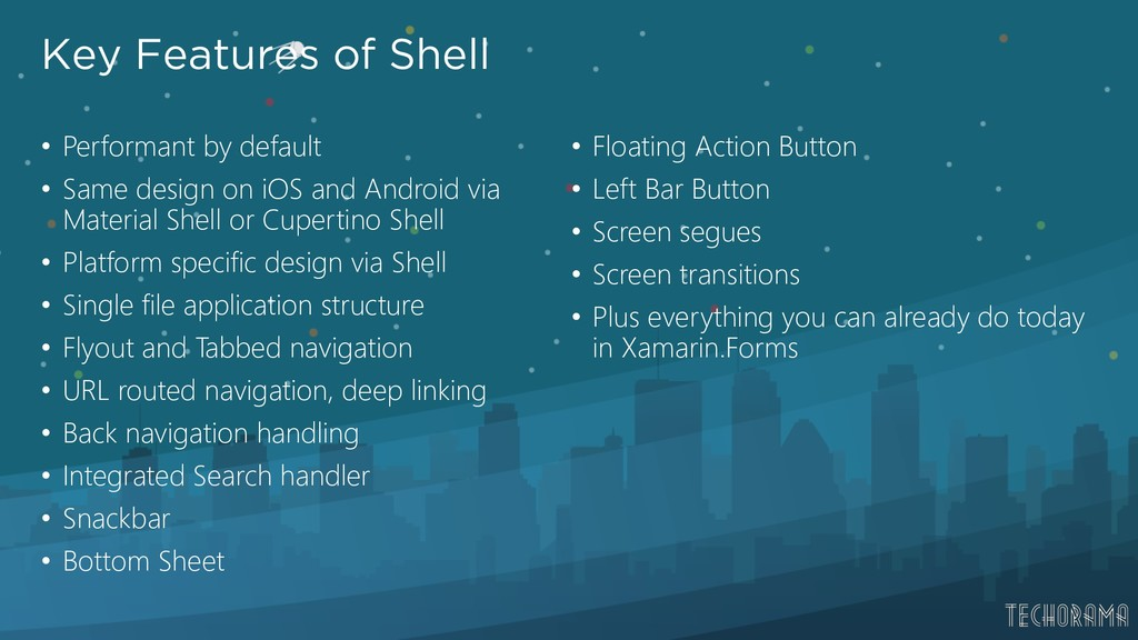 Key Features of Shell • Performant by default •...