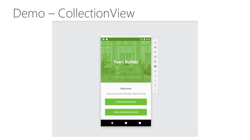 Demo – CollectionView