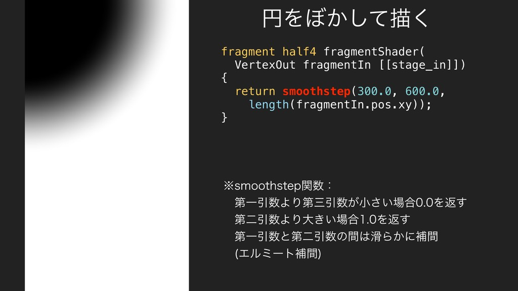 fragment half4 fragmentShader( VertexOut fragme...
