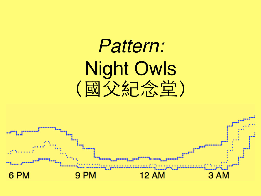 Pattern: Night Owls (國⽗父紀念堂)