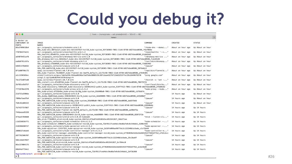Could you debug it? munz & more #26