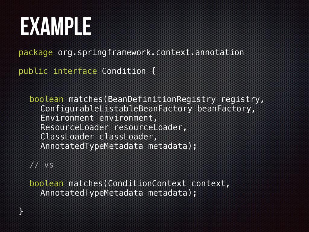 Example package org.springframework.context.ann...
