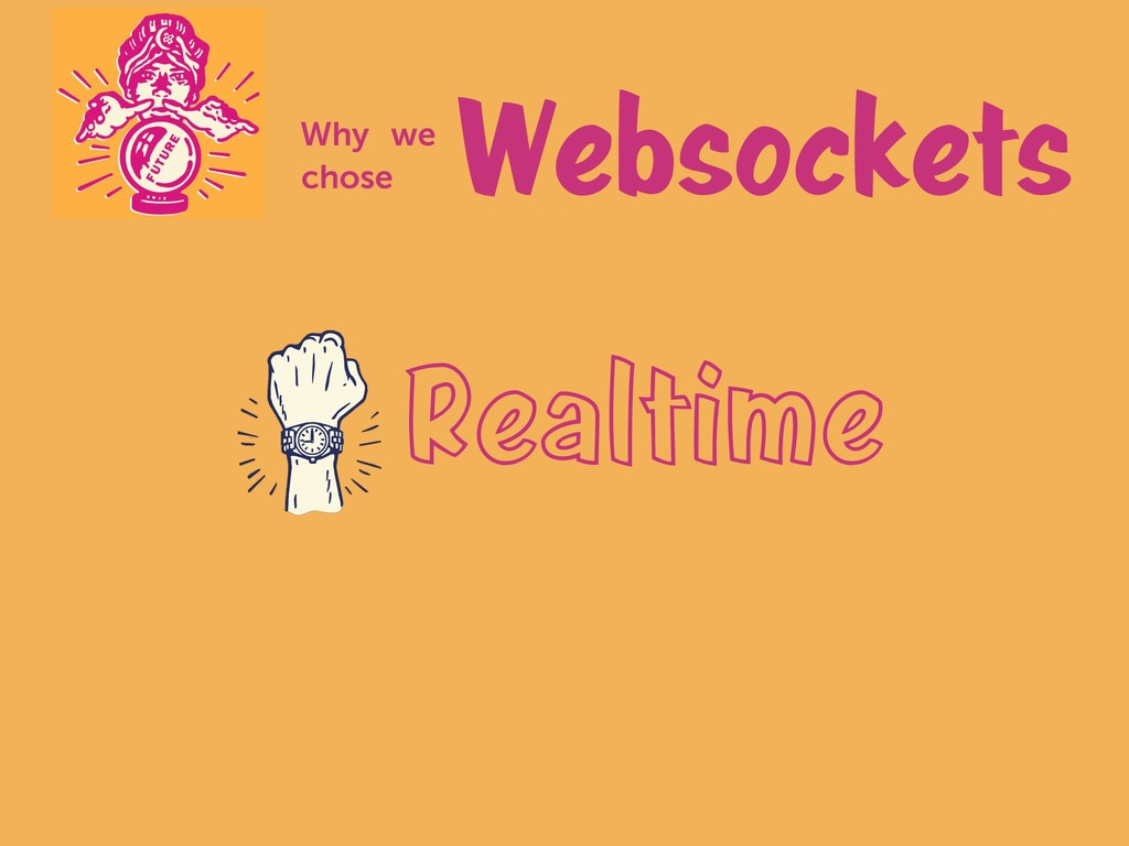Realtime Websockets Why we chose