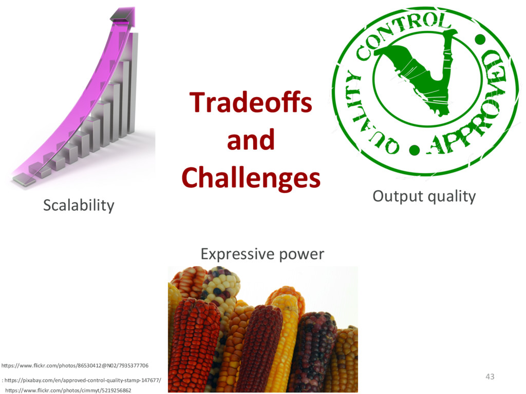 Tradeoffs and Challenges 43 Scalability Expressi...