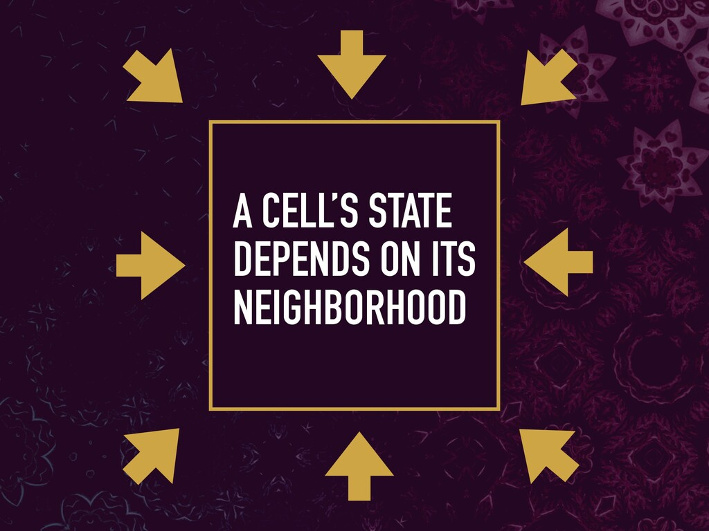 A CELL'S STATE 