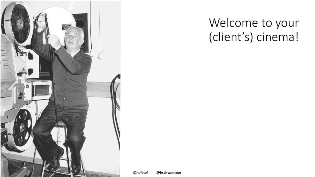 @hofstef @hschwentner Welcome to your (client's...