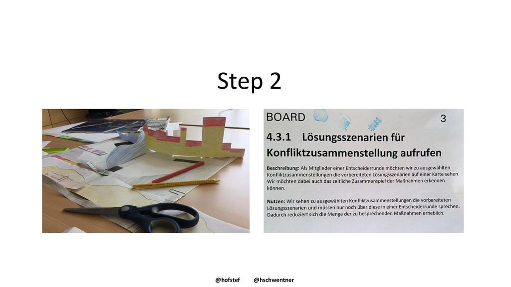 @hofstef @hschwentner Step 2
