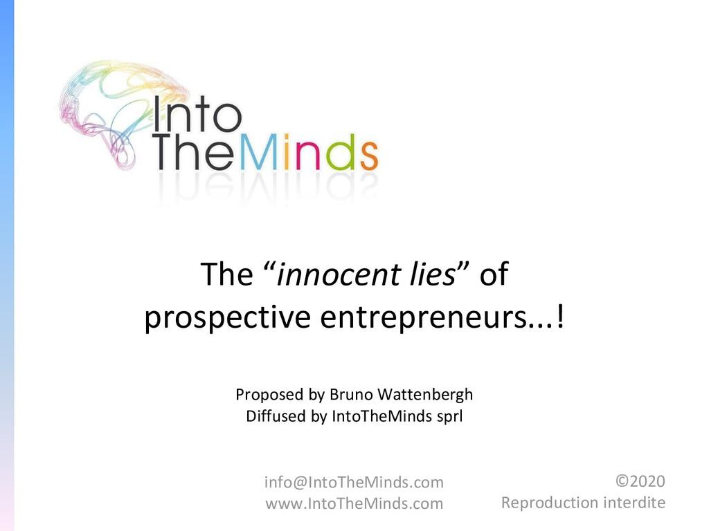 info@IntoTheMinds.com www.IntoTheMinds.com ©202...