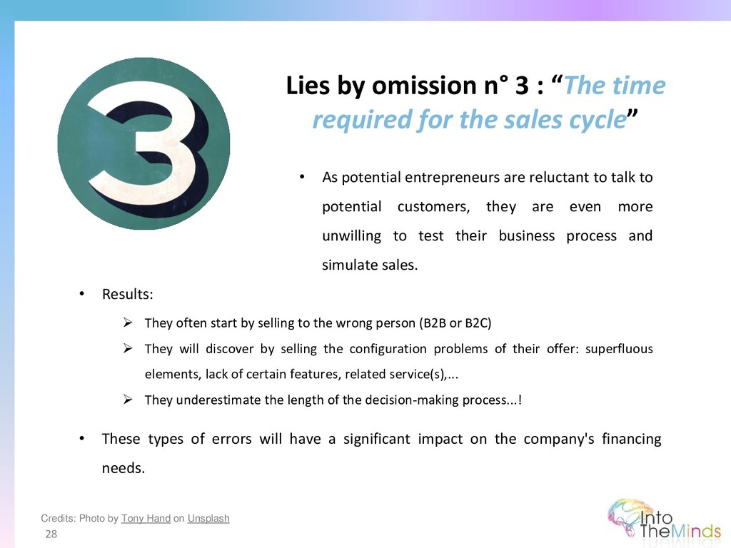 """Lies by omission n° 3 : """"The time required for ..."""