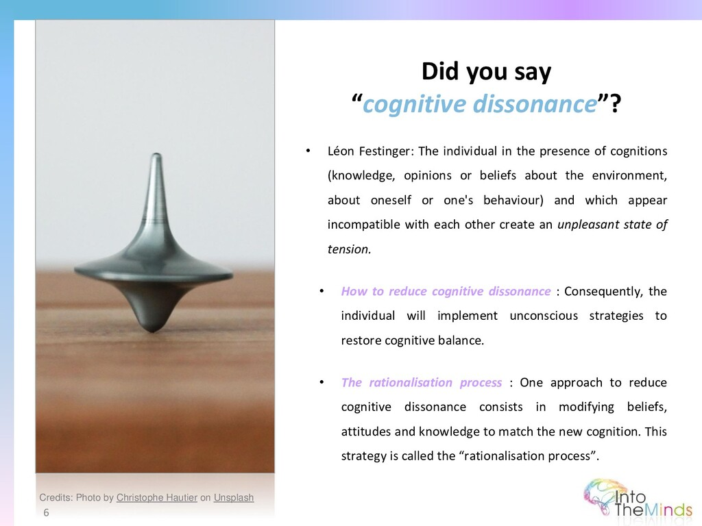 "Did you say ""cognitive dissonance""? 6 • Léon Fe..."