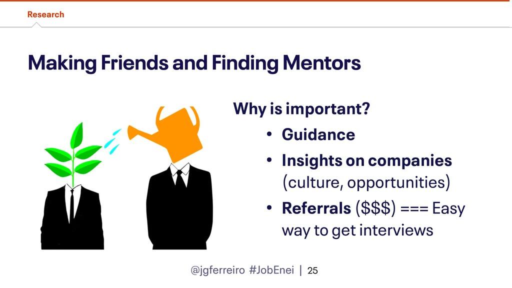 @jgferreiro #JobEnei | Making Friends and Findi...