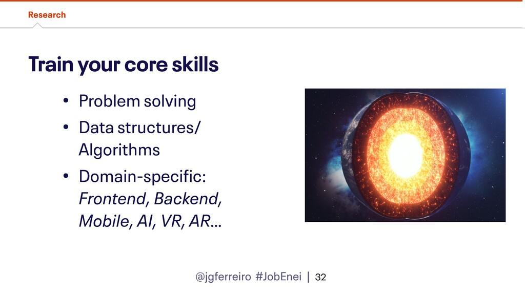 @jgferreiro #JobEnei | Train your core skills R...